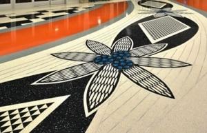 环氧艺术地坪漆为什么适用于自行车赛车场馆