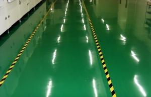 厂房的地坪为什么选用水性环氧地坪漆施工方案