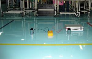 自流平地坪漆是工业厂房地板净化项目