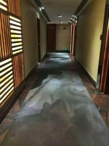 PVC水墨画艺术地板