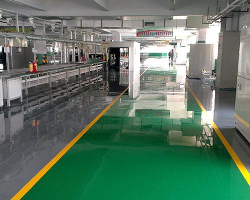 水性环氧平涂地坪涂装体系